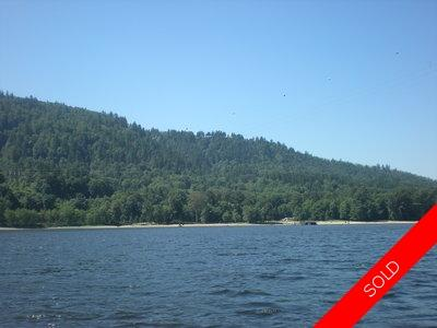 Port Moody Land for sale on the Burrard Inlet: 353 ft. of Ocean Front