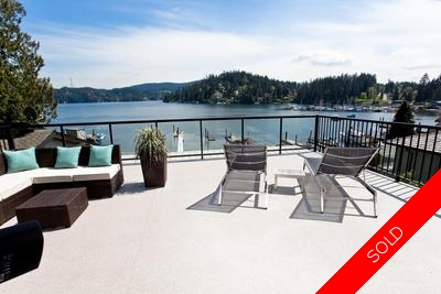 Deep Cove Waterfront Property for sale:  3 bedroom 2,379 sq.ft.
