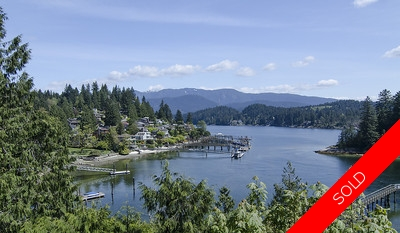 Deep Cove Waterfront Property with water views in all direction