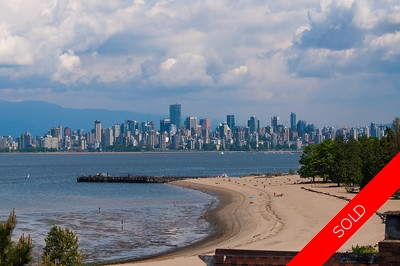 Exclusive seaside location home at Spanish Banks!
